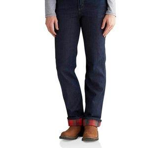 """Carhartt Women's Flannel Lined Jeans """"Blaine"""""""
